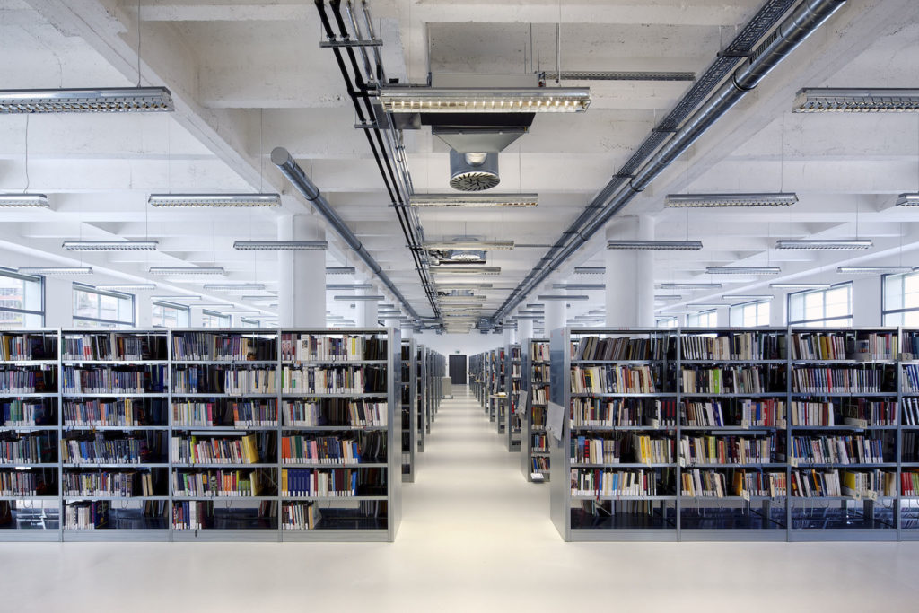 František Bartoš Regional Library Zlín building architecture design interior view