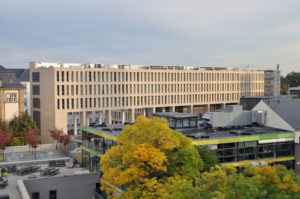 ULB Universitäts Landesbibliothek Darmstadt library building architecture design exterior view