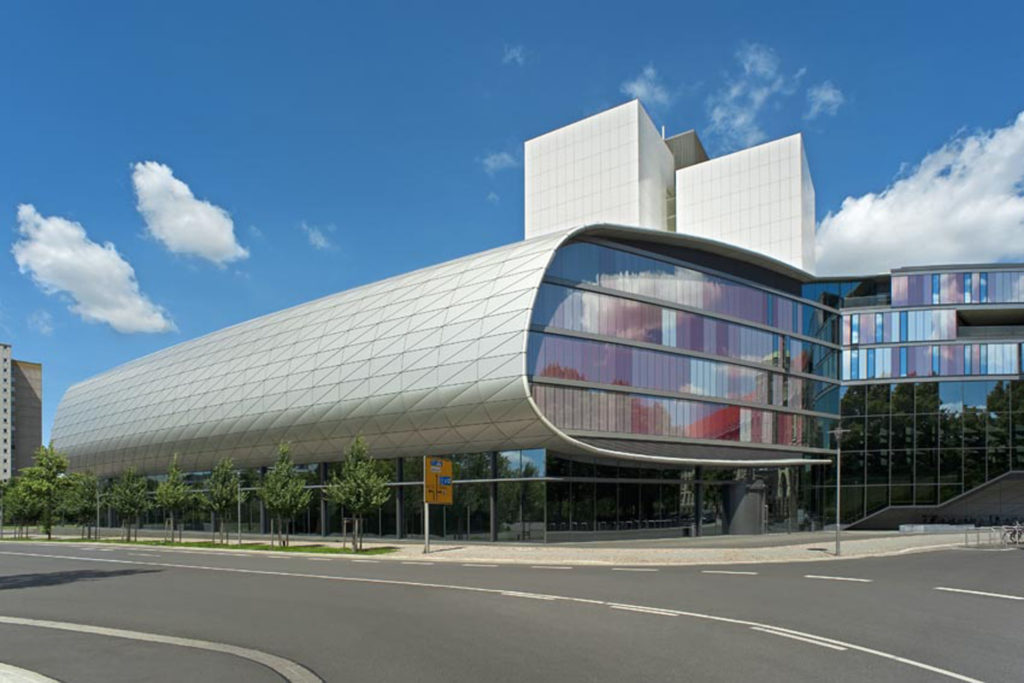 DNB Standort Leipzig library building architecture design exterior view