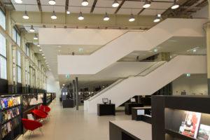Haus Tista Murk ZHAW Hochschulbibliothek Winterthur library building architecture design interior view