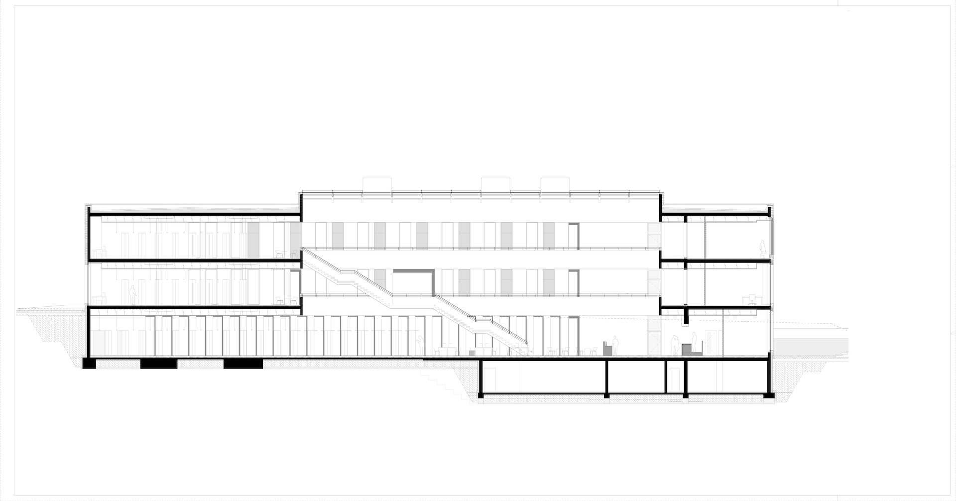 Hochschule Fulda University Applied Sciences library building architecture design plan