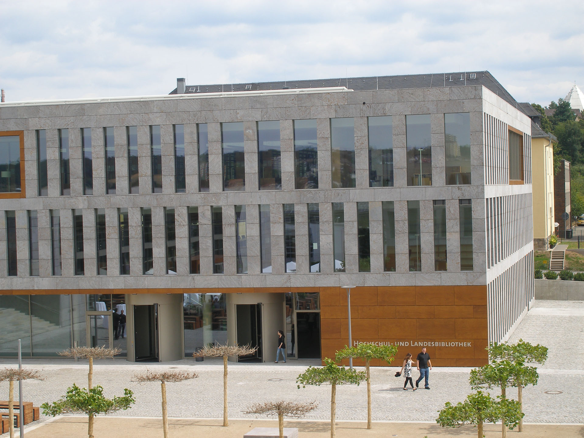 Hochschule Fulda University Applied Sciences library building architecture exterior view