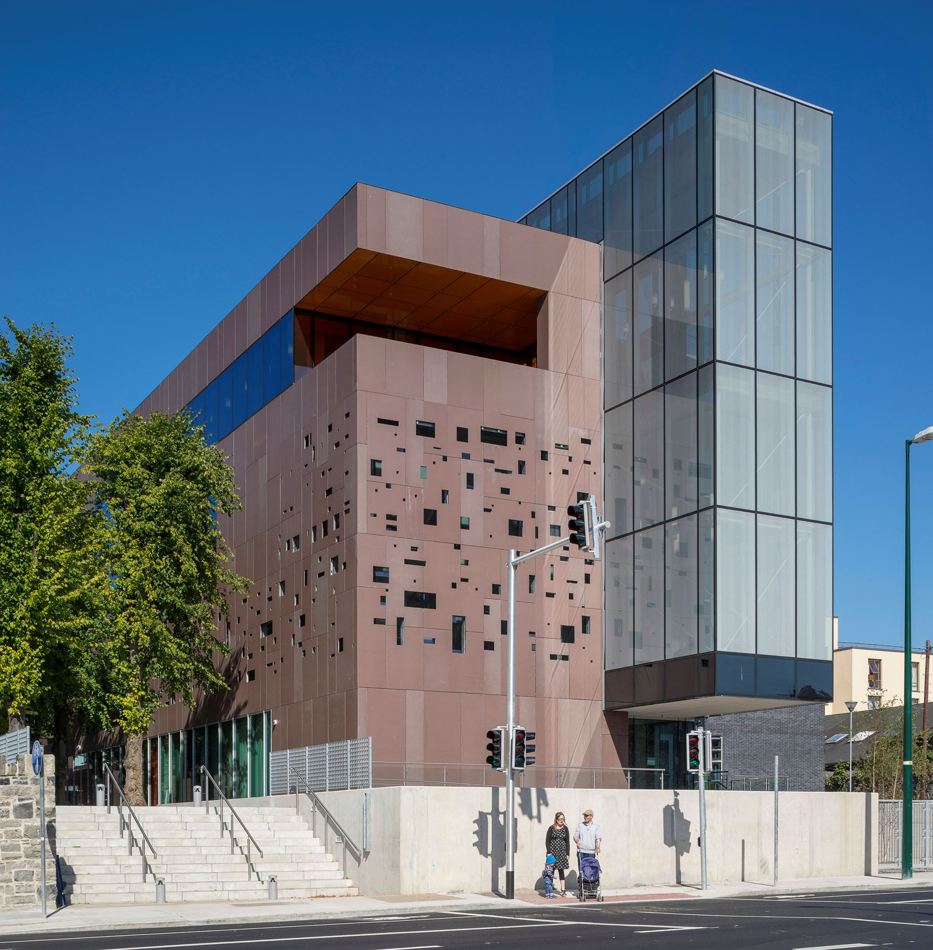 Cregan Library St Patrick's Campus DCU Dublin City University building architecture design exterior view