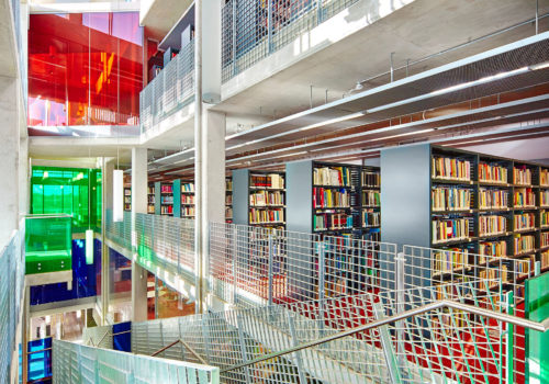 Cregan Library St Patrick's Campus DCU Dublin City University building architecture design interior view