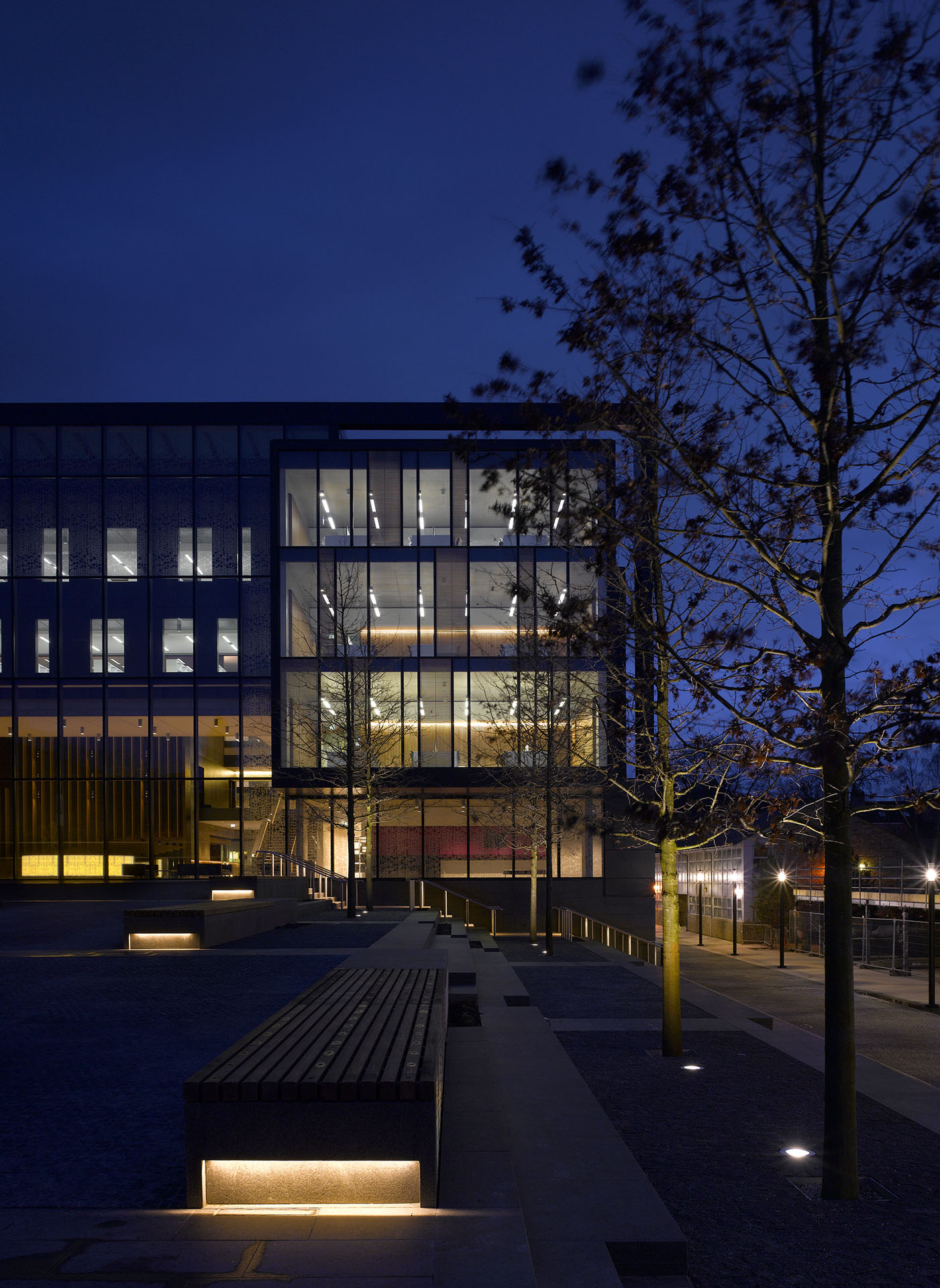 Headington Library Oxford Brookes University library building architecture design exterior view