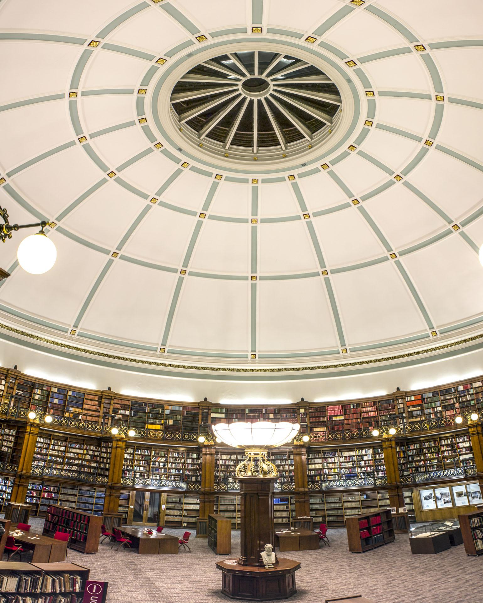 Liverpool Central Library Archive building architecture design interior view
