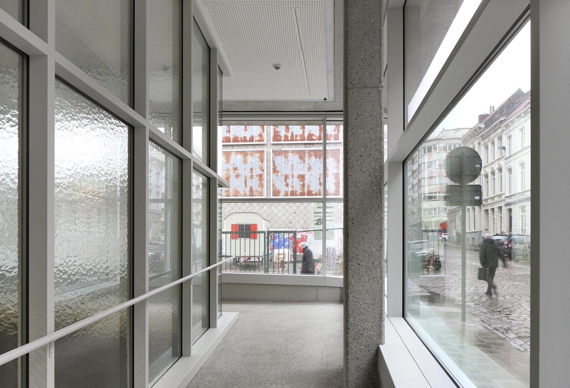 Rijksarchief Gent library building architecture design interior view