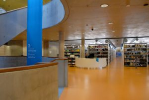 SVK HK Research Library in Hradec Králové building architecture design interior view