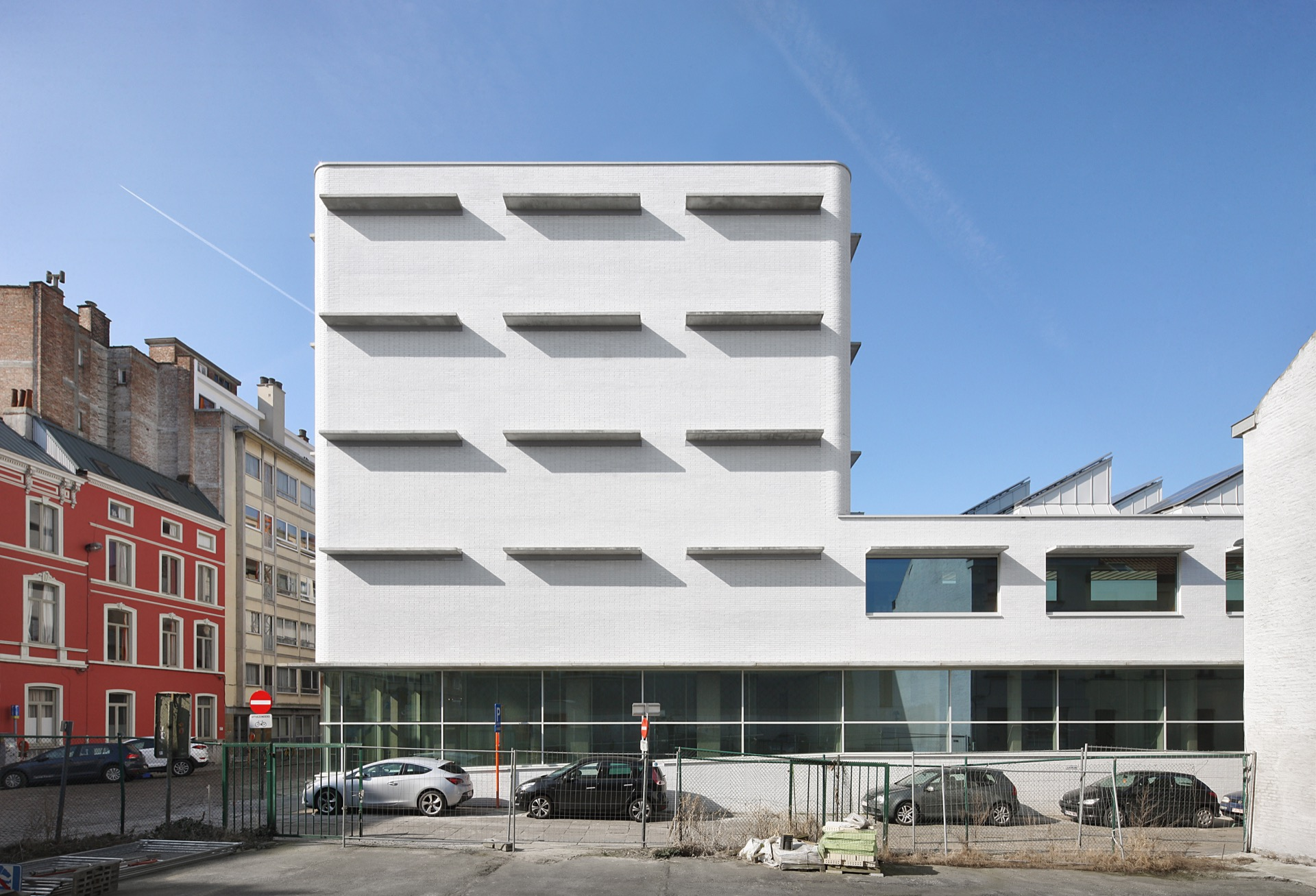 Rijksarchief Gent library building architecture design exterior view