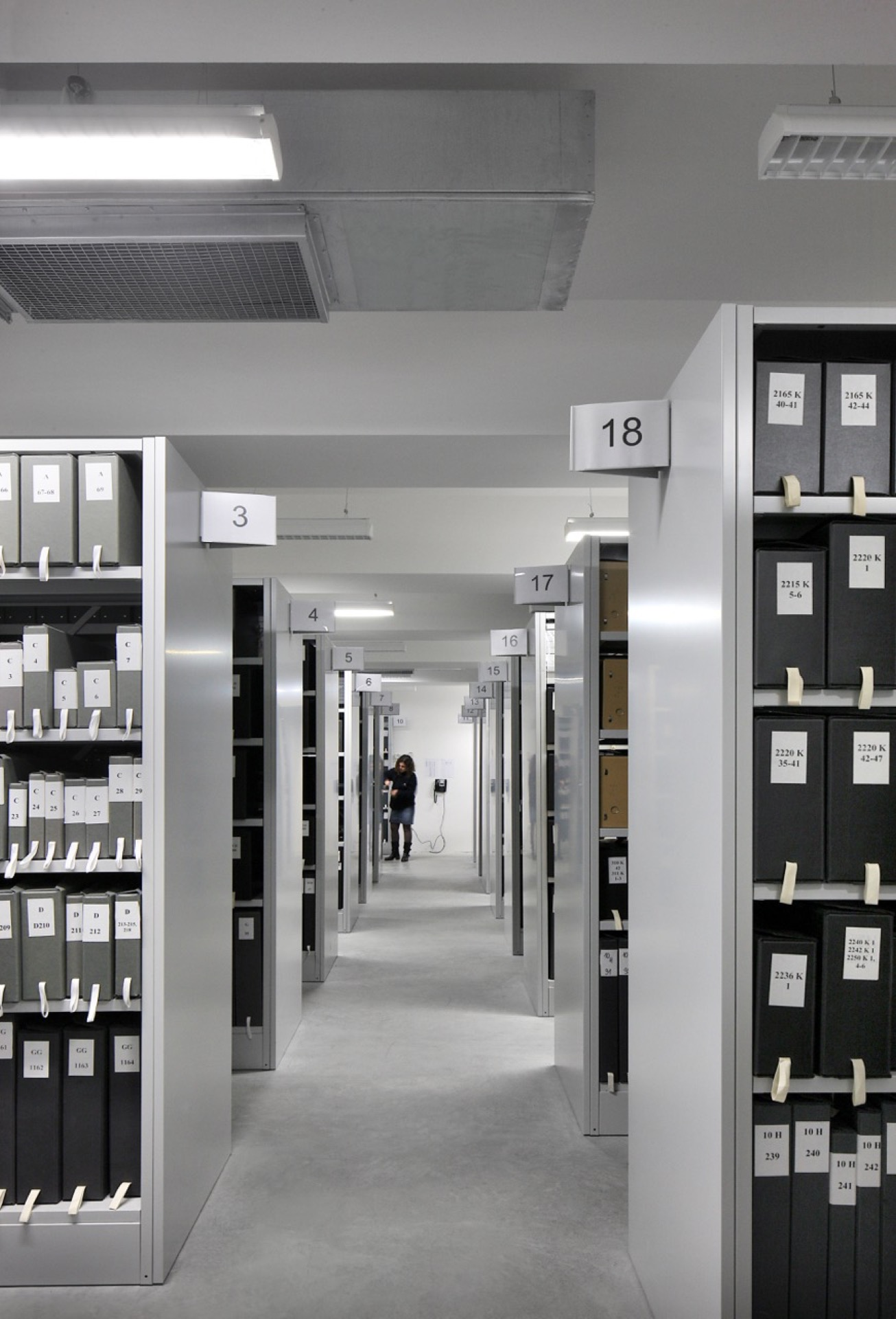 Archives Bordeaux archive building architecture design interior view
