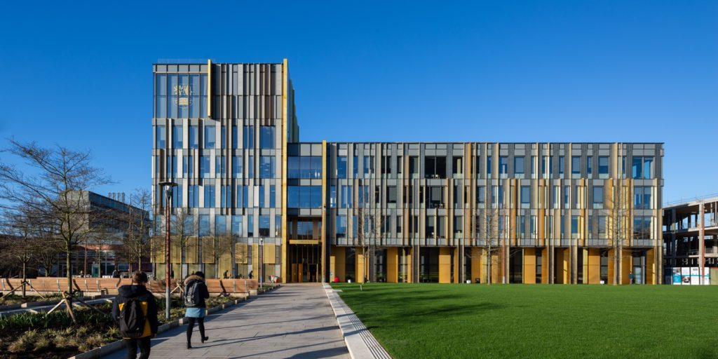 Main Library University of Birmingham building architecture design exterior view
