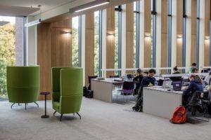 Glucksman libary University of Limerick building architecture design interior view
