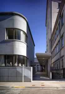 Boekentoren Gent library building architecture design interior view