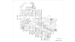 McClay Library Queen's University Belfast building architecture design plan