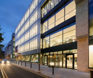 RCSI Royal College of Surgeons in Ireland Dublin library building architecture design exterior view