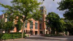 McClay Library Queen's University Belfast building architecture design exterior view