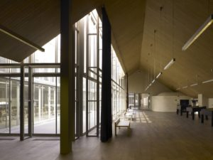St Felix Pakhuis Antwerpen library building architecture design interior view