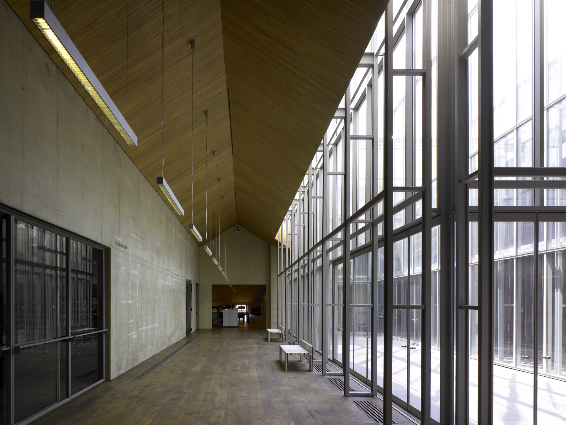 St Felix Pakhuis Antwerpen library building architecture design interior view