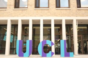 UCL Student Centre London library building architecture design exterior view