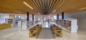 La Ginesta Begues builibrary lding architecture design interior view