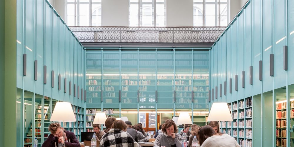 Faculty Library Engineering Architecture Ghent University interior design